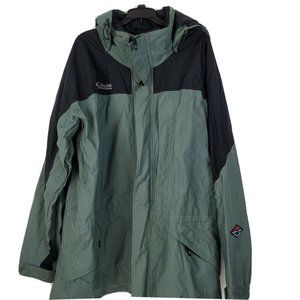 Columbia Gray Omni-Tech Waterproof Jacket XXL